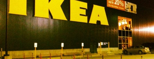 IKEA is one of ATL_Hunter 님이 좋아한 장소.