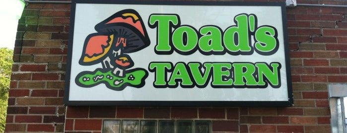 Toad's Tavern is one of Top 50 Bars in central Iowa.