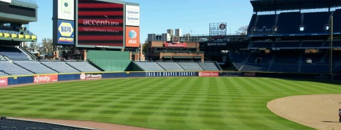 Turner Field is one of Major League Baseball Parks.