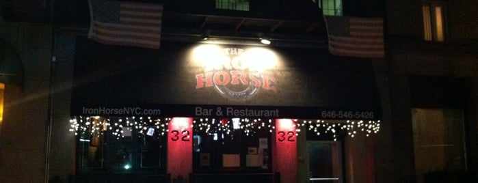 Iron Horse NYC is one of Free Food in NYC (?!).