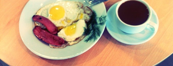 Brunch Cafe is one of Locais curtidos por Igor .