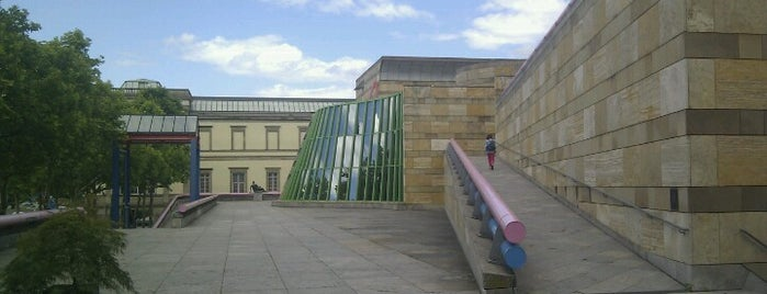 Staatsgalerie Stuttgart is one of Oleksandr : понравившиеся места.
