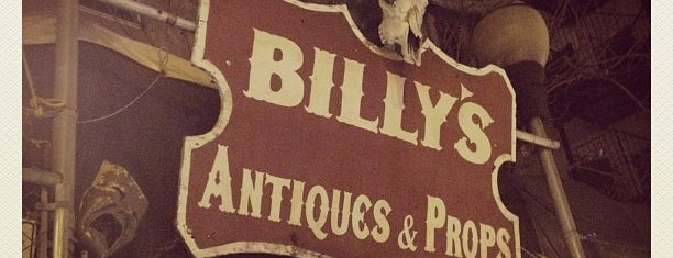 Billy's Antiques & Props is one of NYC.