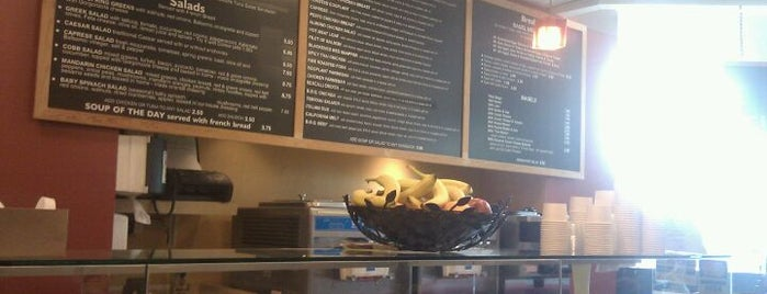 Working Girls Cafe is one of Nourished in SF.