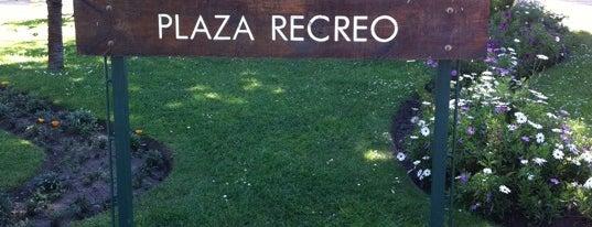 Plaza Recreo is one of Tempat yang Disimpan ANA MARIA.