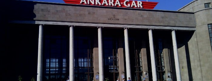 Gare centrale d'Ankara is one of Lieux qui ont plu à Yasar.