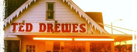 Ted Drewes Frozen Custard is one of bucket list - dessert shop.
