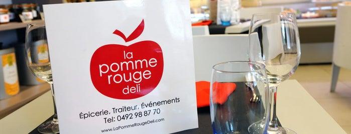 La Pomme Rouge Deli is one of FR2DAY's Favourite Cafés & Bars on the Côte d'Azur.