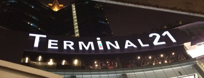 Terminal21 is one of Middle East.