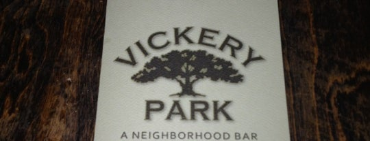 Vickery Park is one of Favorite Nightlife Spots.