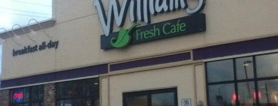 Williams Fresh Cafe is one of Niagara fallls.