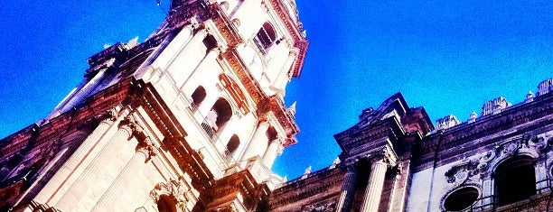 Gymkana Foursquare - Catedral De Malaga is one of 4sqDay Malaga 2012 gymkana.