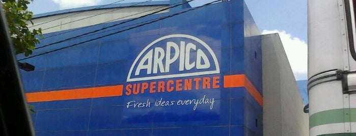 Arpico Super Center is one of Orte, die Vishan gefallen.