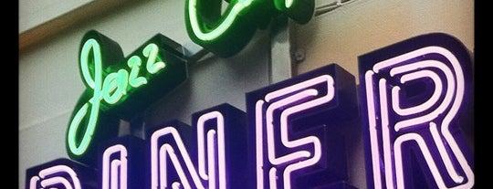Jazz City Diner is one of สถานที่ที่บันทึกไว้ของ Denea.