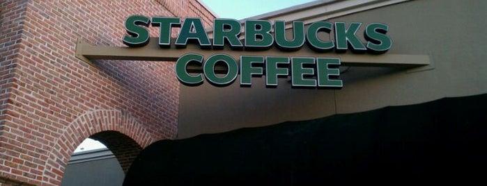 Starbucks is one of Coffee Shops of Savannah.