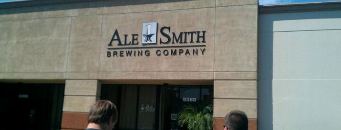 AleSmith Brewing Company is one of Craft Beer Hot Spots in San Diego.