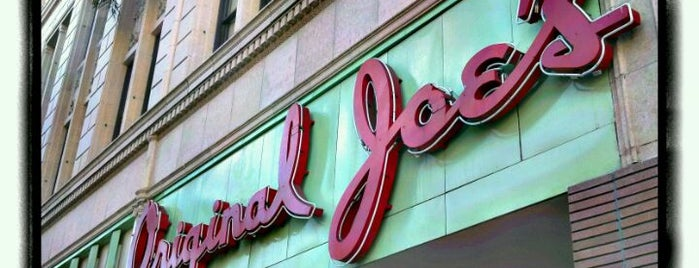 Original Joe's is one of Pacific Old-timey Bars, Cafes, & Restaurants.