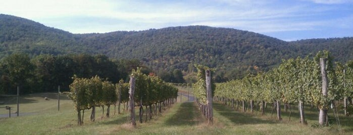 Afton Mountain Vineyards is one of VA Win that's Fine!.
