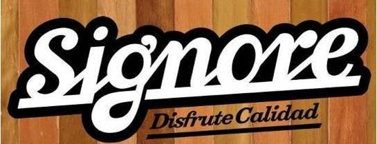 Signore is one of Restaurantes, Bares, Cafeterías y Mundo Gourmet.