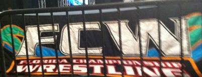 FCW Wrestling is one of Lugares favoritos de Wayne.