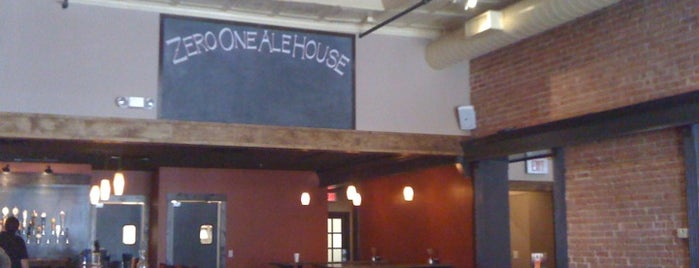 Zero One Ale House is one of Great Places to Eat.