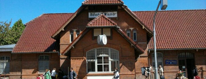Bahnhof Wismar is one of Wismar🇩🇪.