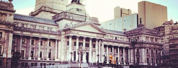 Palacio del Congreso de la Nación Argentina is one of BsAs.