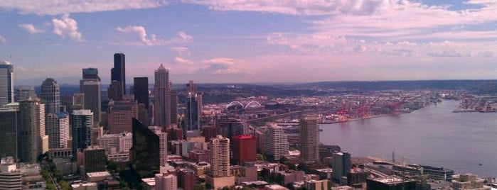 Space Needle: Observation Deck is one of Places that are checked off my Bucket List!.