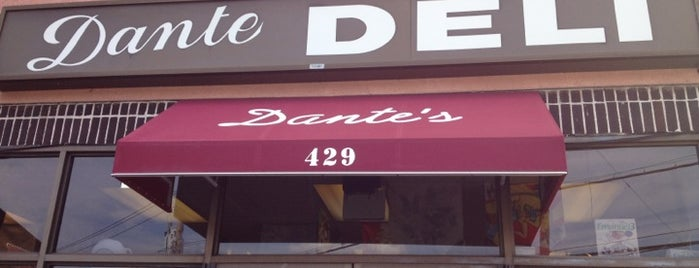 Dante's Gourmet Deli is one of wc/hv.