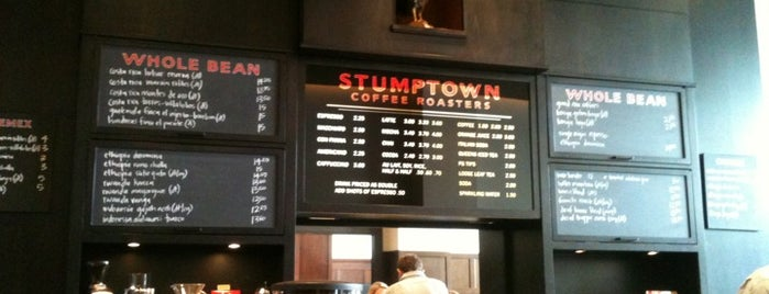 Stumptown Coffee Roasters is one of Hipster Coffee Shop Explosion.