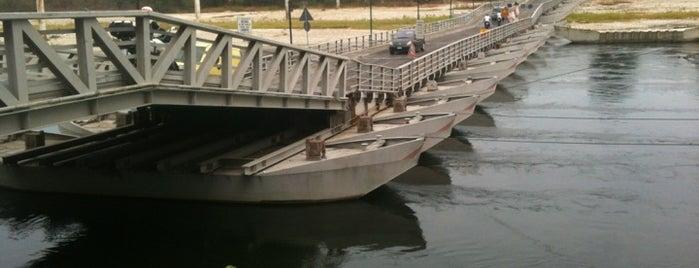Ponte Di Barche is one of Luoghi di Leonardo, Naviglio di Bereguardo.