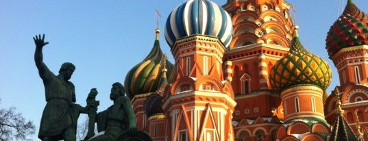 St. Basil's Cathedral is one of TOP of Moscow.