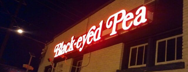 The Black-eyed Pea is one of Dallas.