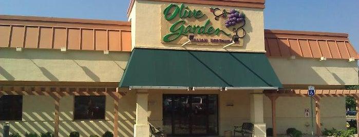 Olive Garden is one of JonElle 님이 좋아한 장소.