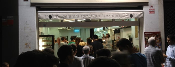 Can Soler Gelateria is one of Orte, die Caótica gefallen.