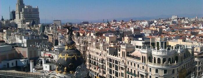 Círculo de Bellas Artes is one of Que visitar en Madrid.