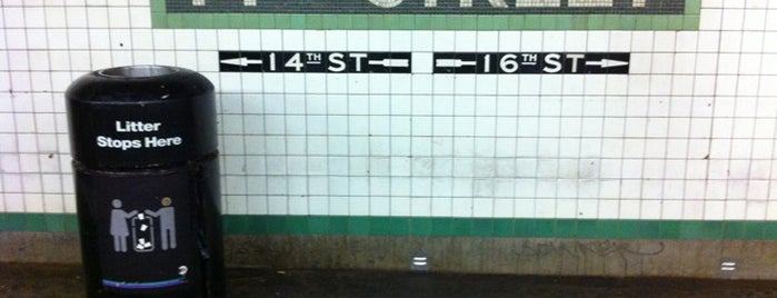 "MTA Subway - 14th St/Union Square (4/5/6/L/N/Q/R/W) is one of ""Been there, done that.""."