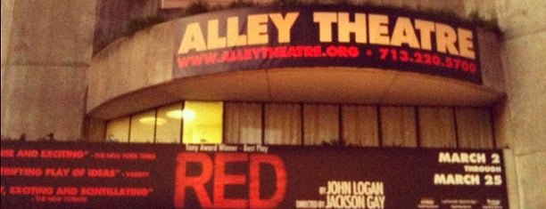 Alley Theatre is one of Houston.