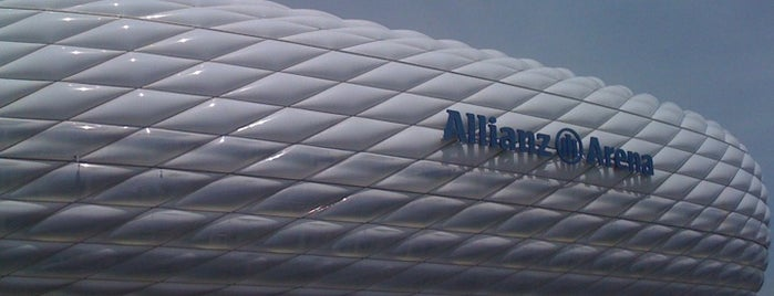 Allianz Arena is one of Munich / Germany.