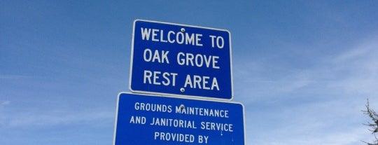 Oak Grove Rest Area is one of สถานที่ที่ Gehlen ถูกใจ.