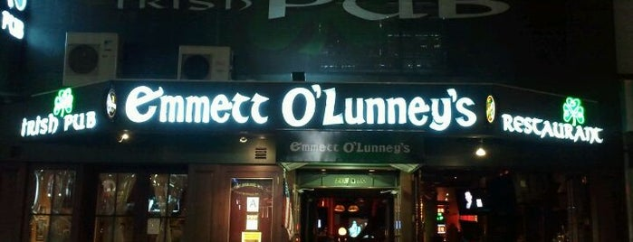 Emmett O'Lunney's Irish Pub is one of All-time favorites in United States.