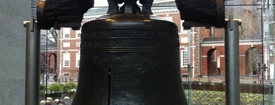 Liberty Bell Center is one of Pennsylvania.