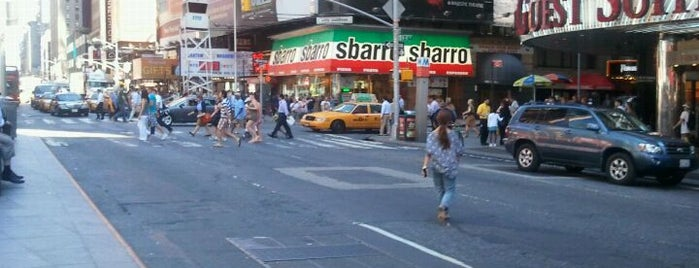 Sbarro is one of NY.