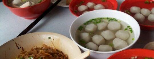 Kedai Makanan Jin Man (金满满茶餐店/阿牛鱼圆粉) is one of Lugares guardados de See Lok.