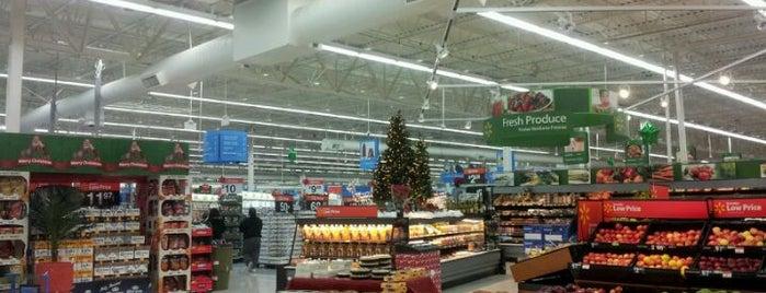 Walmart Supercenter is one of California.