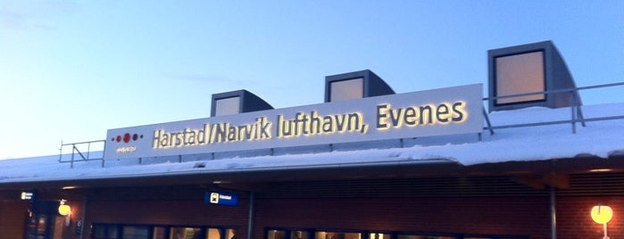 Harstad/Narvik Lufthavn, Evenes (EVE) is one of Airports I've been to.