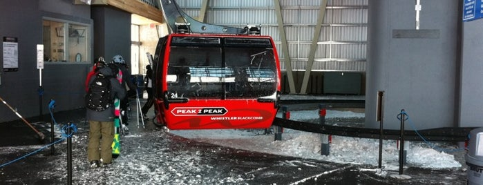 PEAK 2 PEAK Gondola is one of Whistler Blackcomb Top 10.