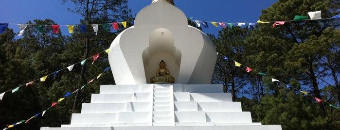 Stupa de La Paz is one of CDMX.