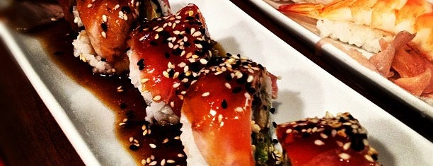 Kin Sushibar is one of Lugares favoritos de Francis.