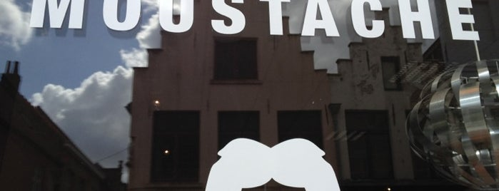 Madame Moustache is one of Bruges by travel VOX.